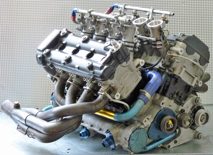 Ein interessanter Motor: Radical V8