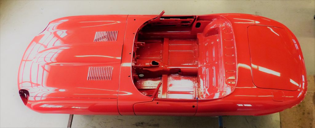 Neues Projekt – Restauration Jaguar E-Type
